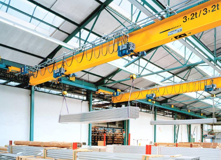 Hängekrananlage mit 2 Hubwerken - A. P. Pfaff GmbH & Co. KG – Augsburg