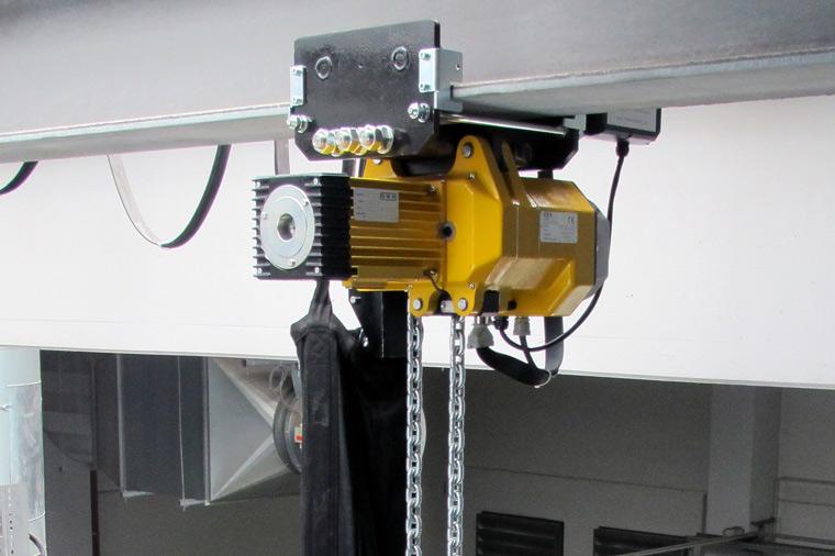 Elektro-Kettenzüge mit Fahrwerk