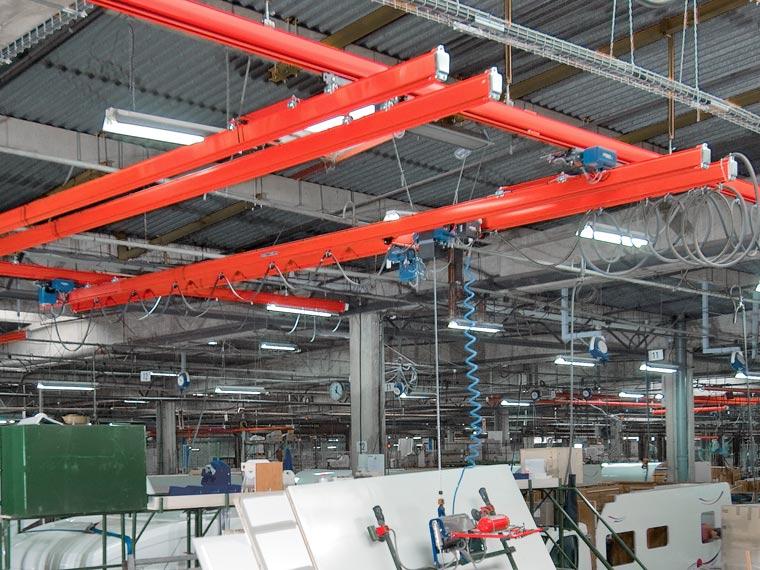KBK – Komplexes System für Werkstatteinrichtung - A. P. Pfaff GmbH & Co. KG – Augsburg
