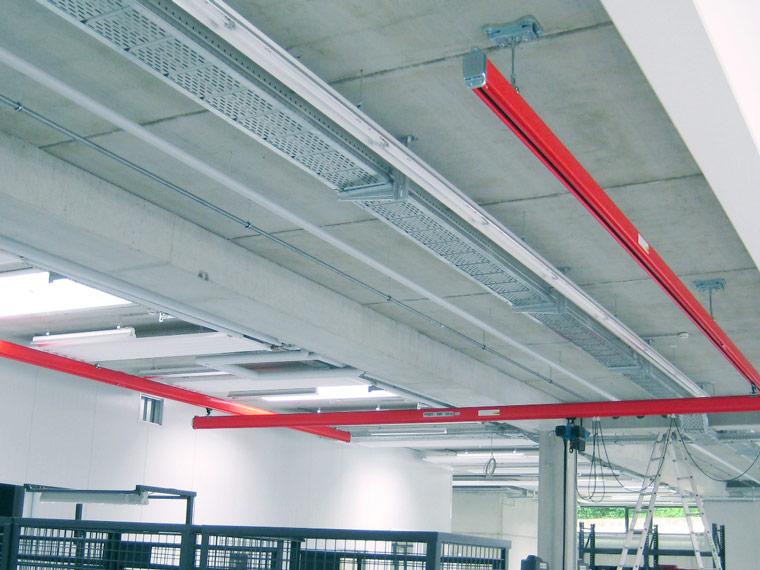 Hängekrananlage für manuellen Betrieb - A. P. Pfaff GmbH & Co. KG – Augsburg