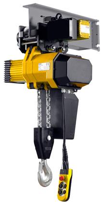 Pfaff Handling - Kettenzüge füe Traglasten, Standard Aufhängung für Rollfahrwerke und Sonder-Kettenzüge